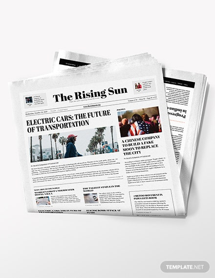 Political Newspaper Download