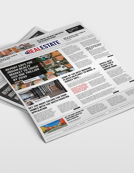 Real Estate Newspaper Download
