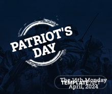 Free Patriot's Day YouTube Channel Cover Template
