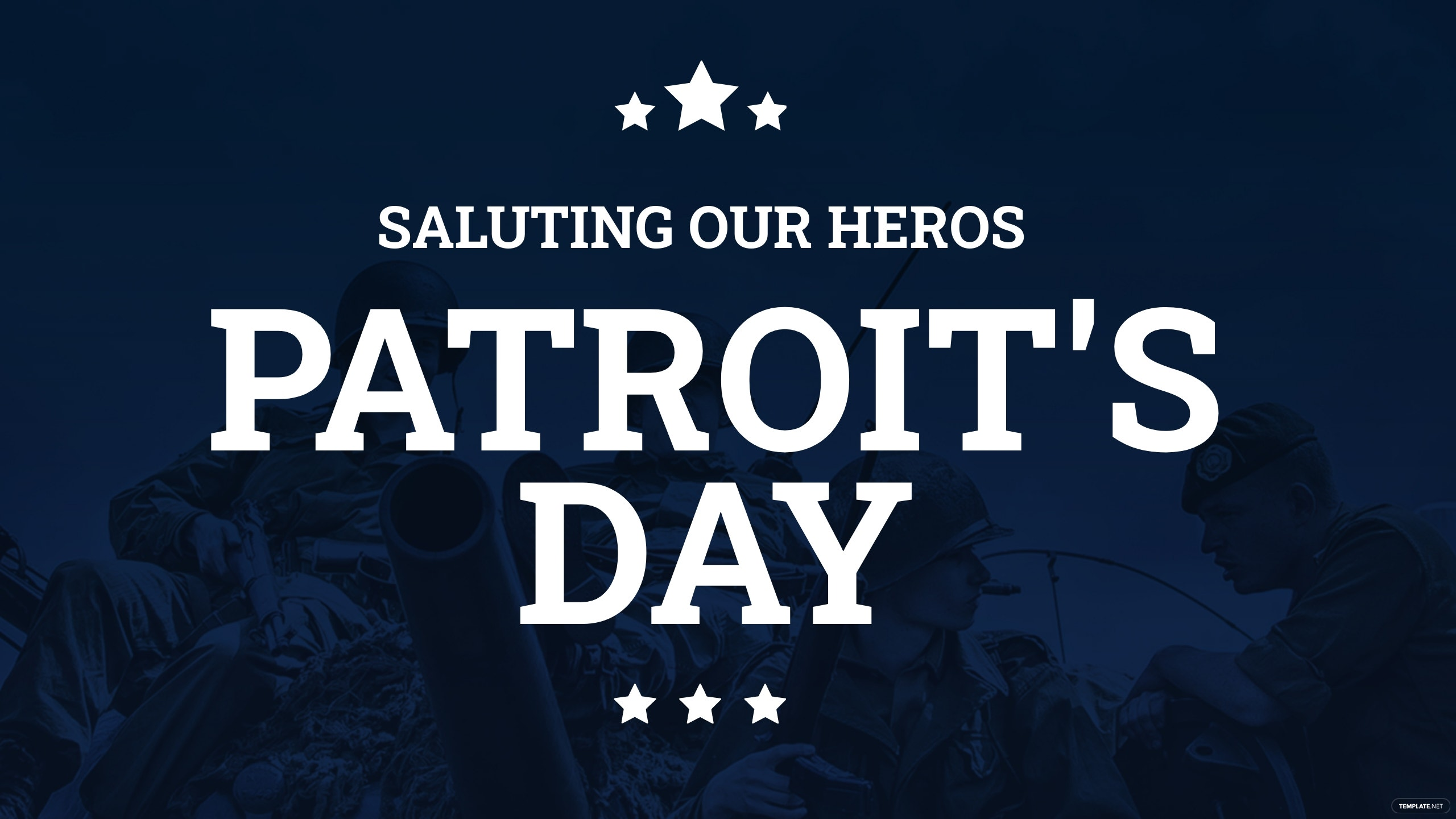 Patriot's Day YouTube Channel Cover Template