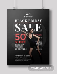 Free Black Friday Deal Poster