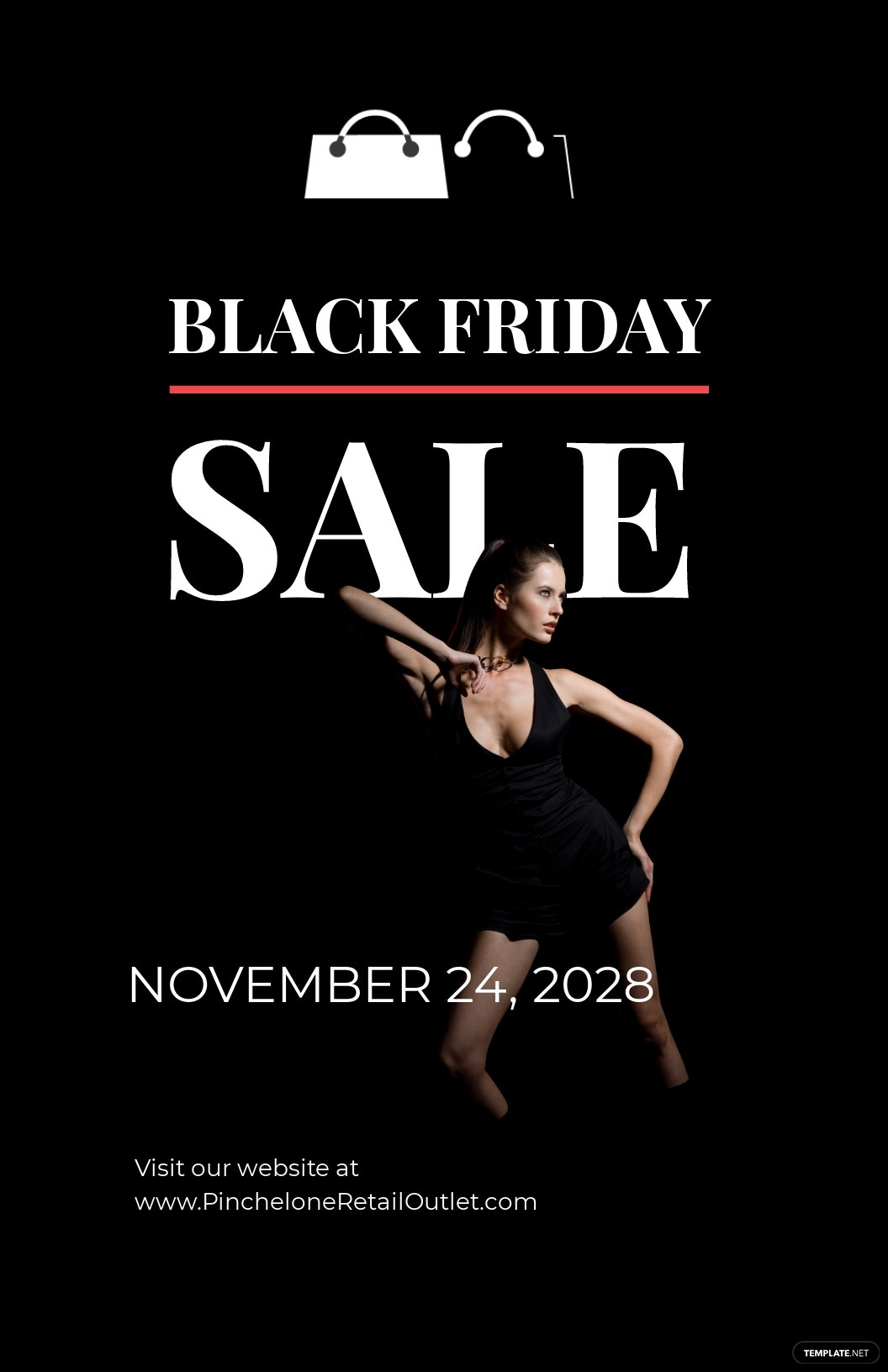Black Friday Deal Poster Template