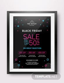 Free Black Friday Promotional Poster