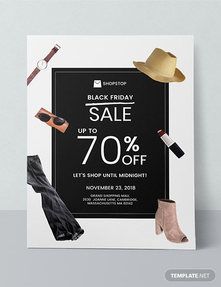 Free Black Friday Sales Poster