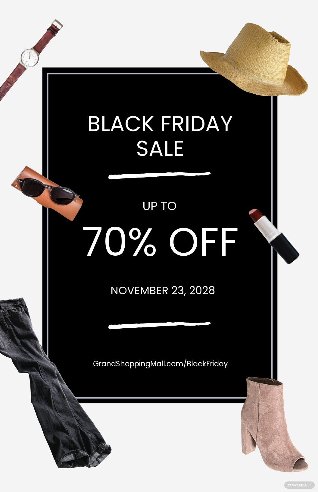 Black Friday Sales Poster