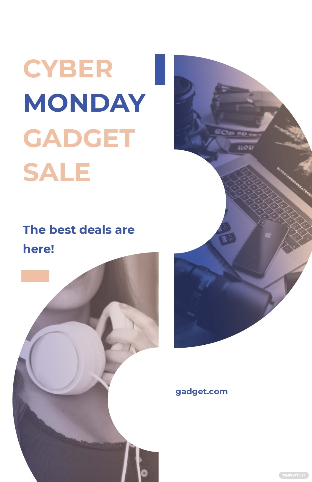 Cyber Monday Sales Poster