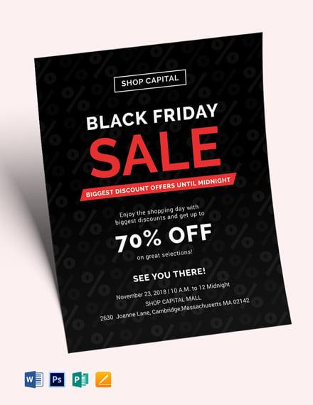 Free Black Friday Sales Flyer