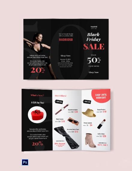 Free Black Friday Sales Brochure