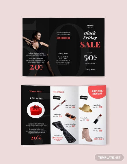 Free Black Friday Sales Brochure