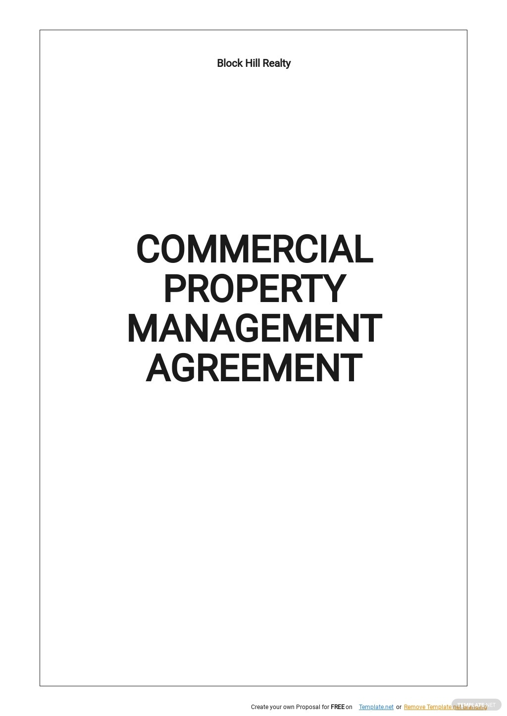 Commercial Property Management Agreement Template.jpe