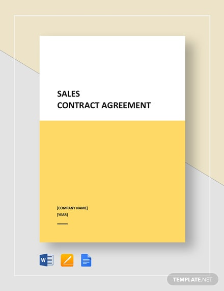 sales contract agreement 2