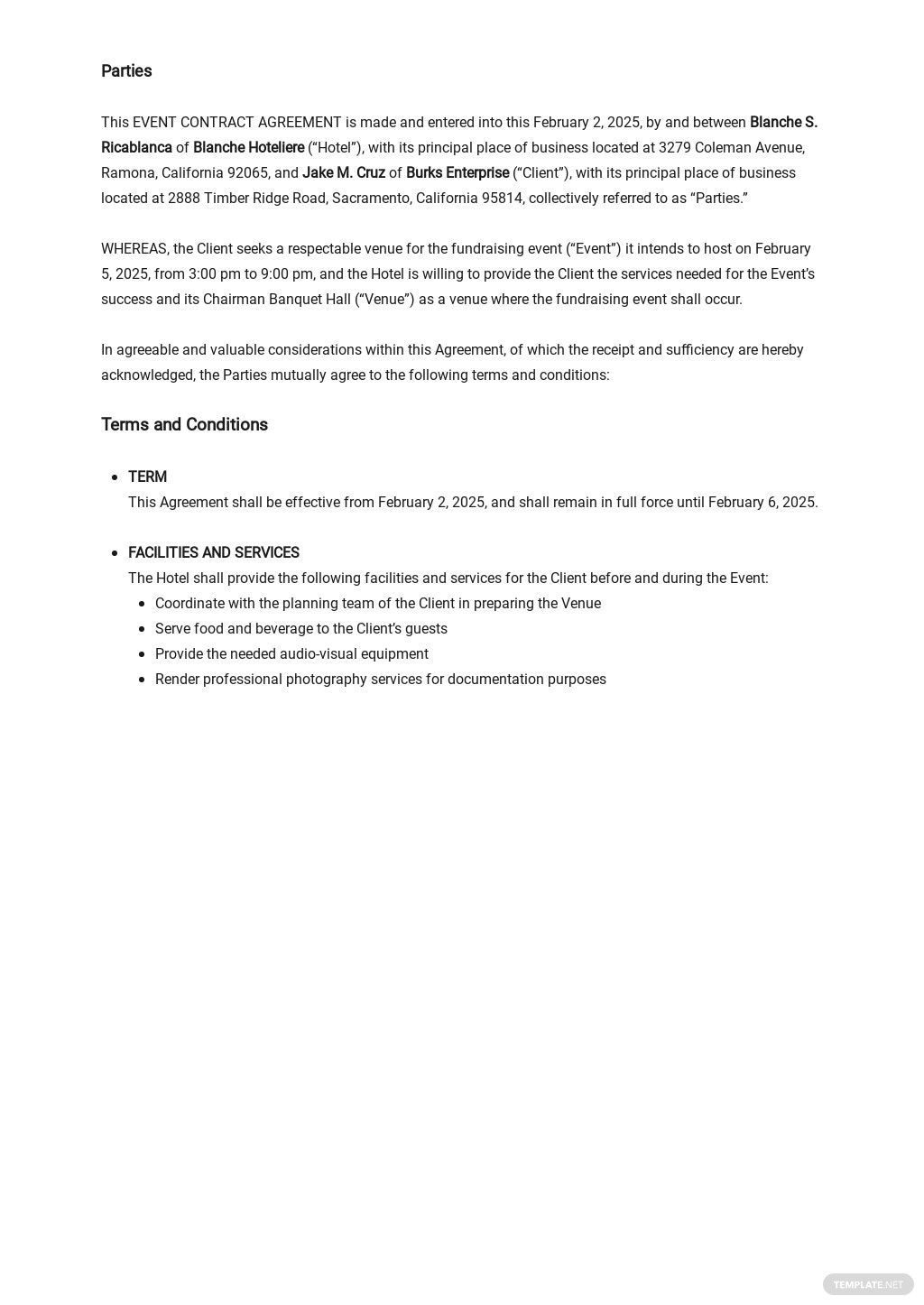 Event Contract Agreement Template  1.jpe