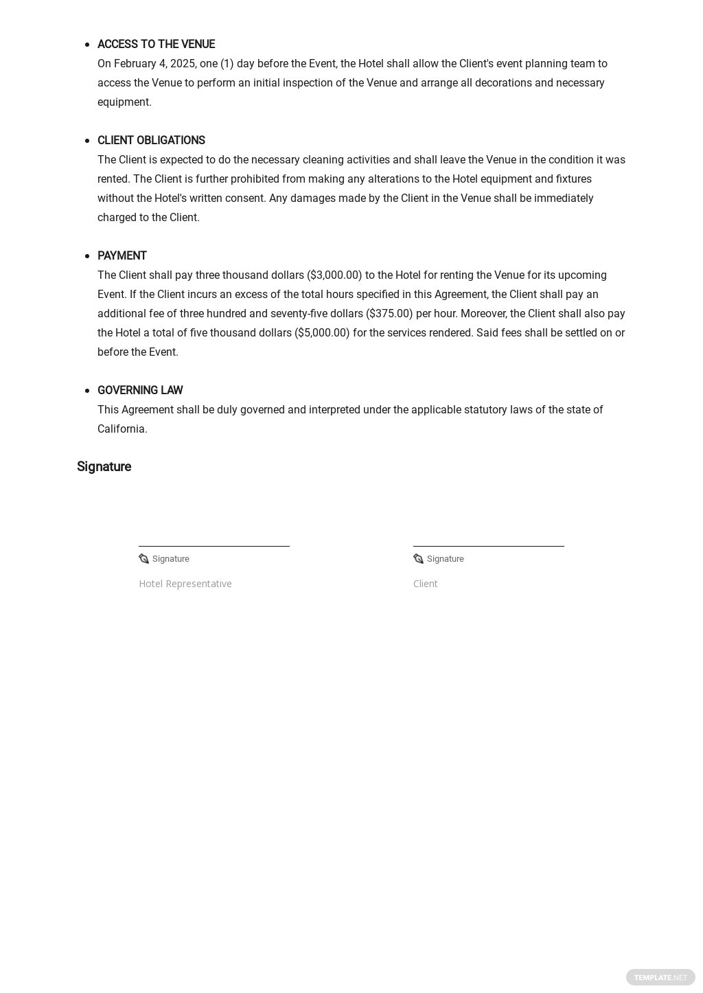 Event Contract Agreement Template  2.jpe