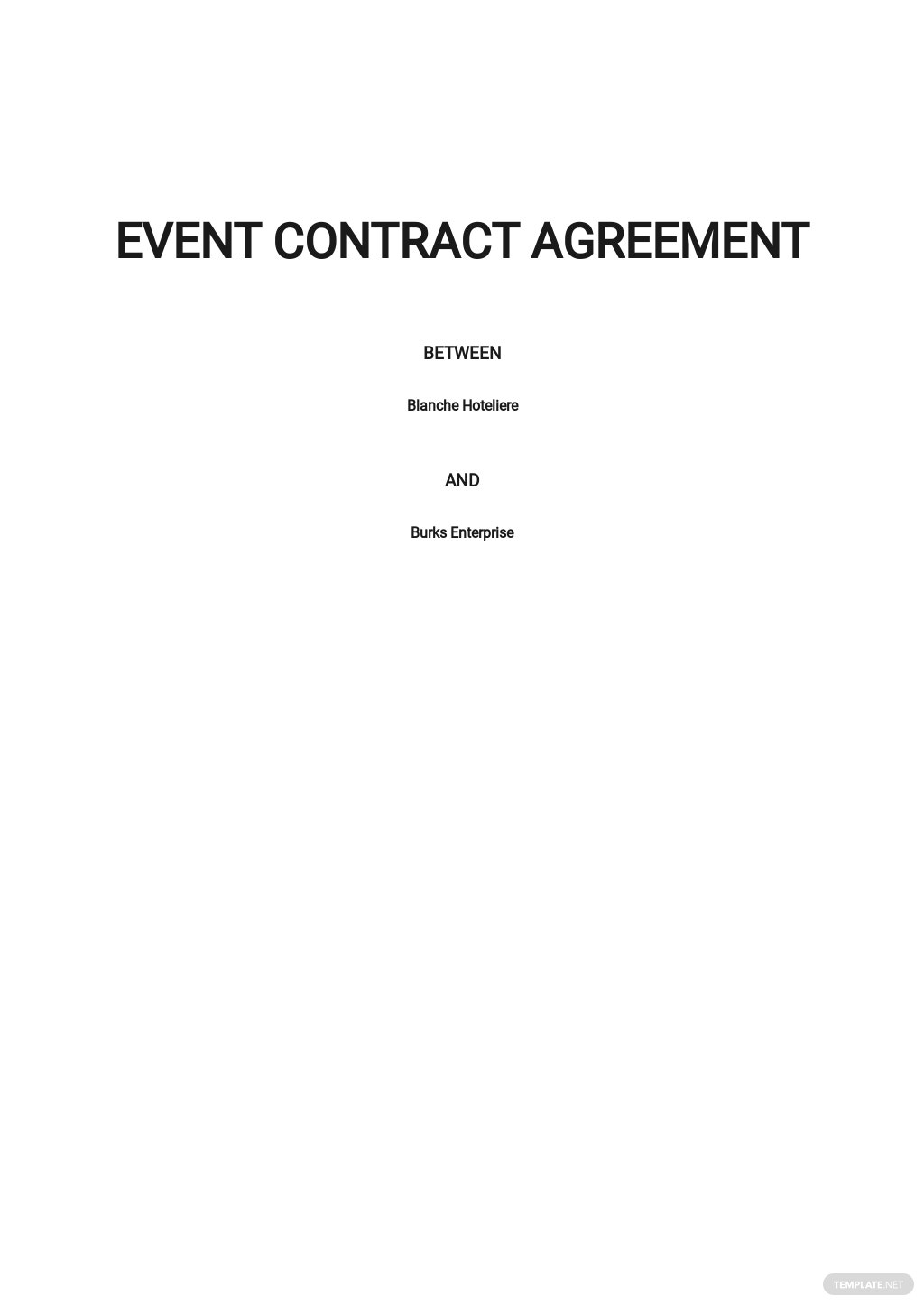 Event Contract Agreement Template .jpe