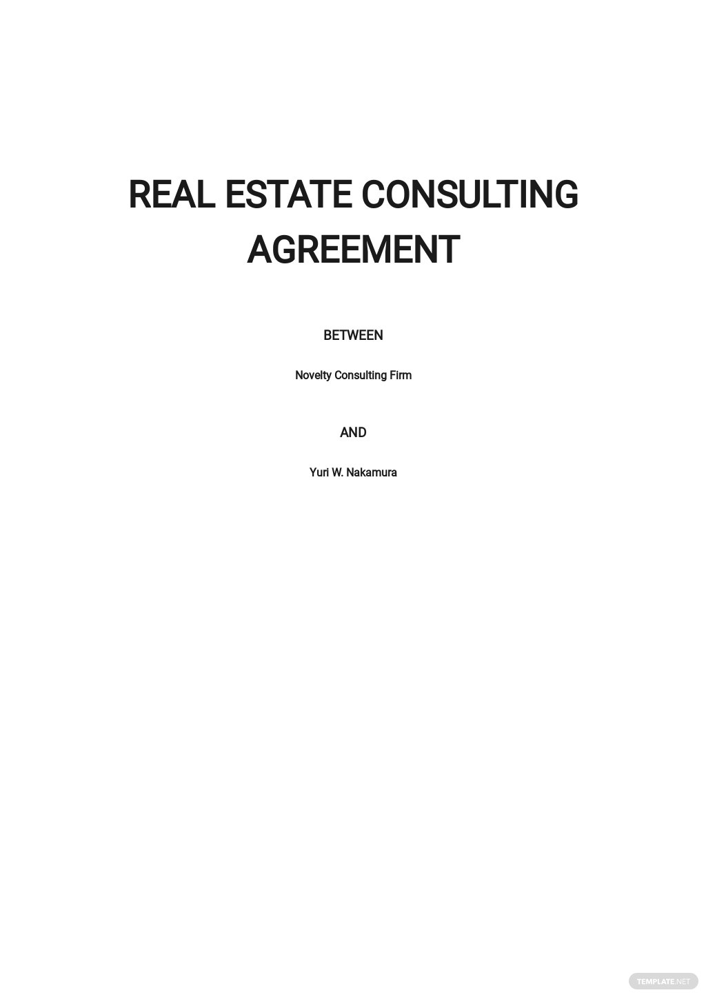 Real Estate Consulting Agreement Template.jpe