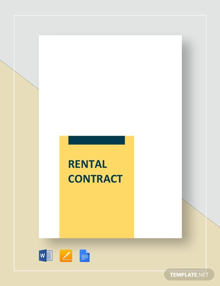 rental contract agreement 2