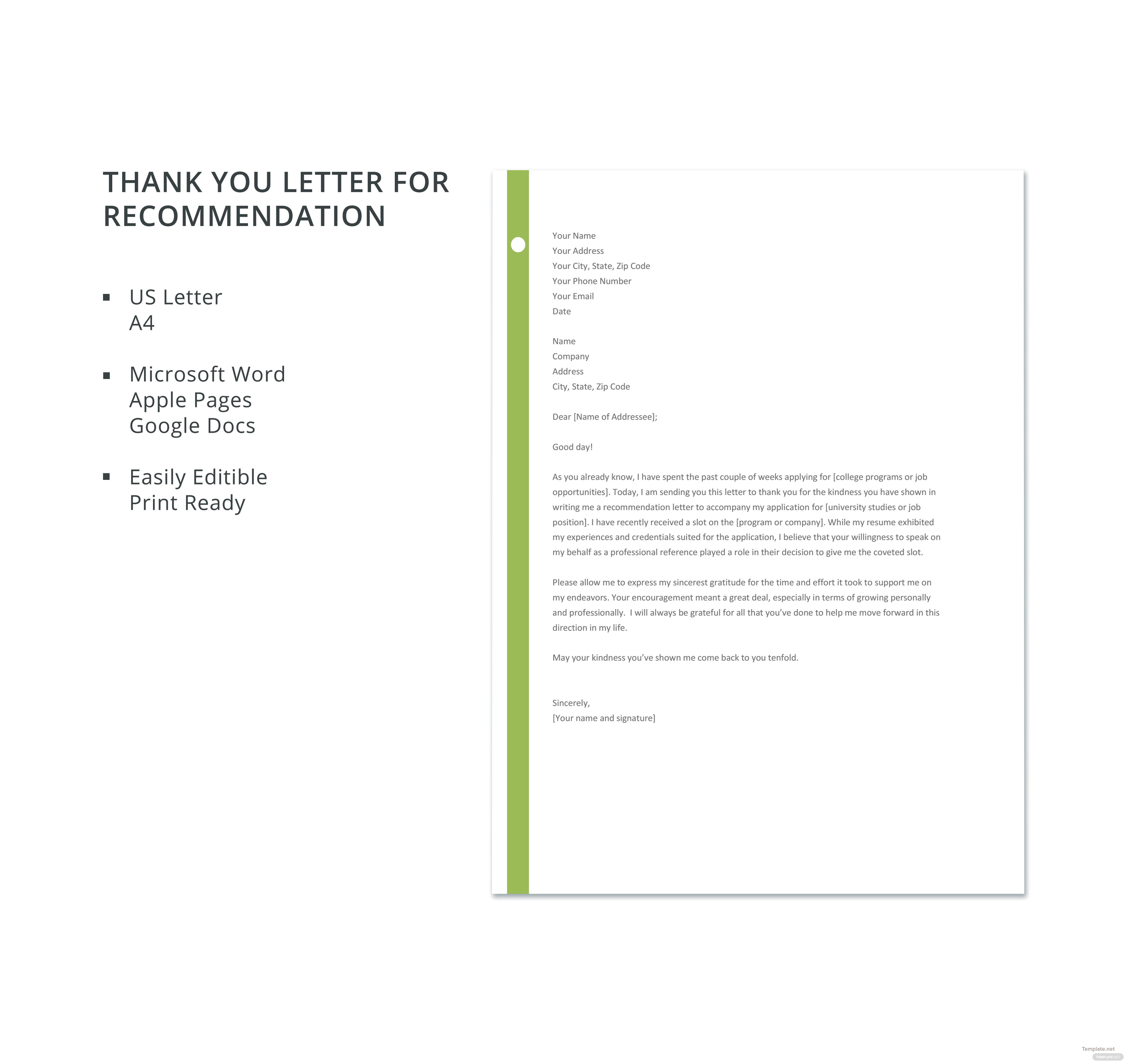Microsoft word letter of recommendation template romeondinez microsoft spiritdancerdesigns Image collections