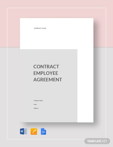 Contract Employee Agreement Template