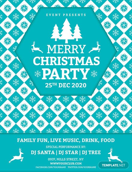 Christmas Event Poster download