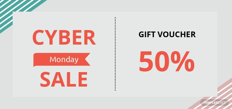 Cyber Monday Coupons Template