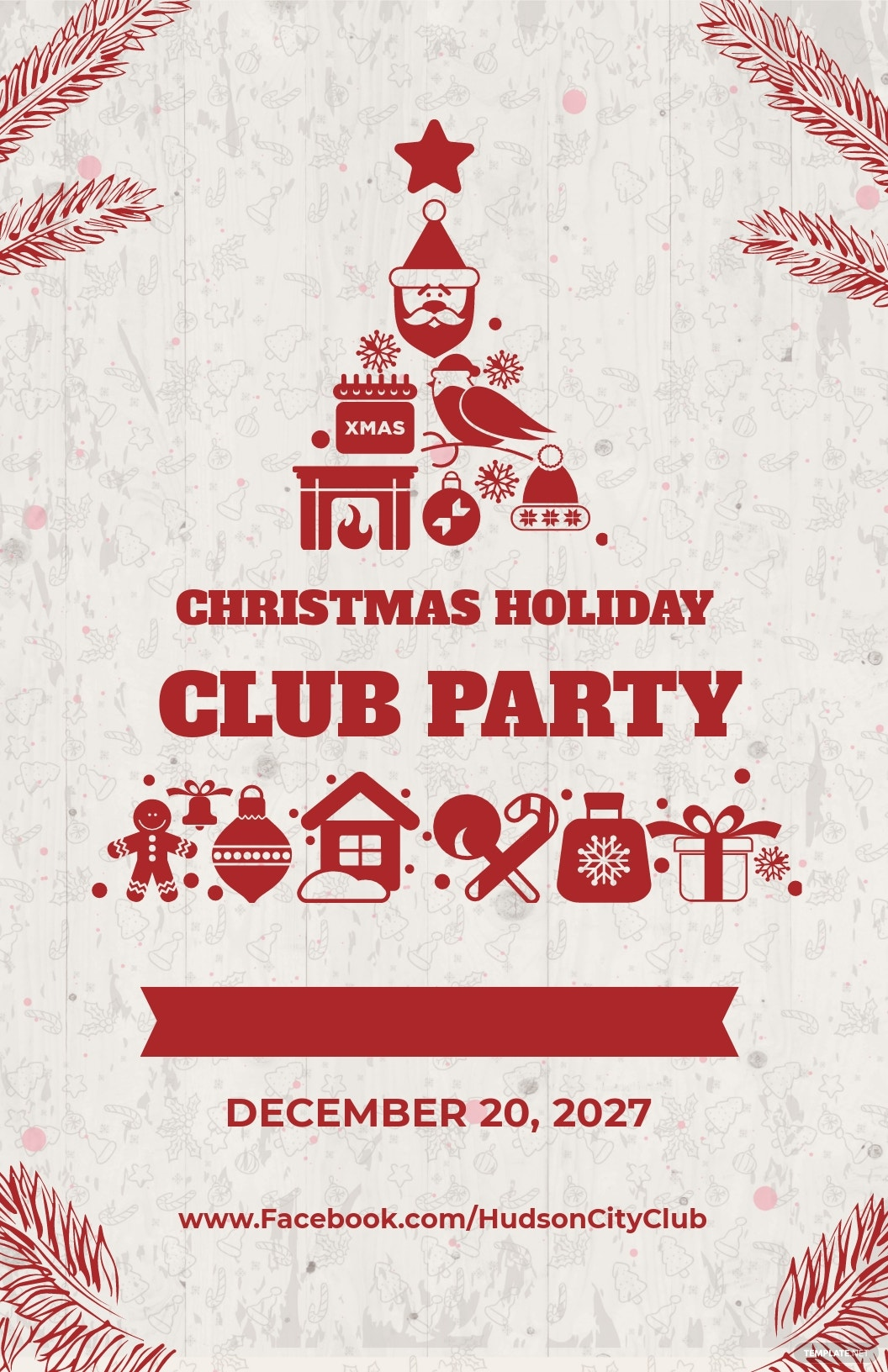 Creative Christmas Poster Template