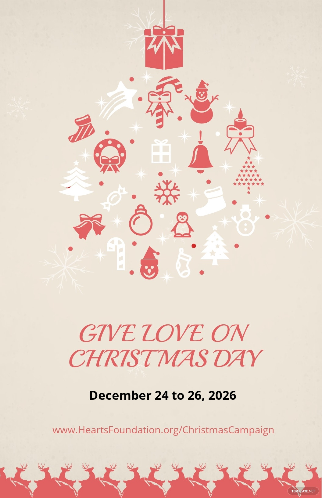Christmas Day Poster Template