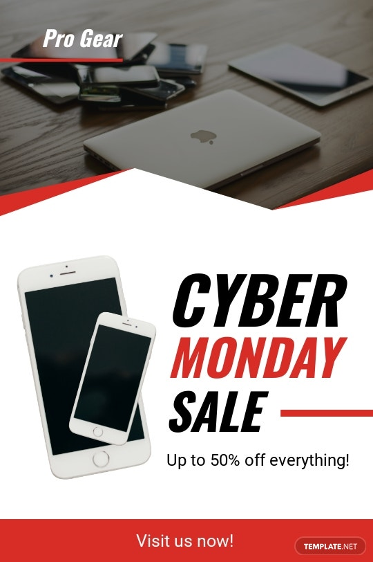 Cyber Monday Sale Tumblr Post Template