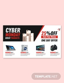 Free Cyber Monday Google+ Cover