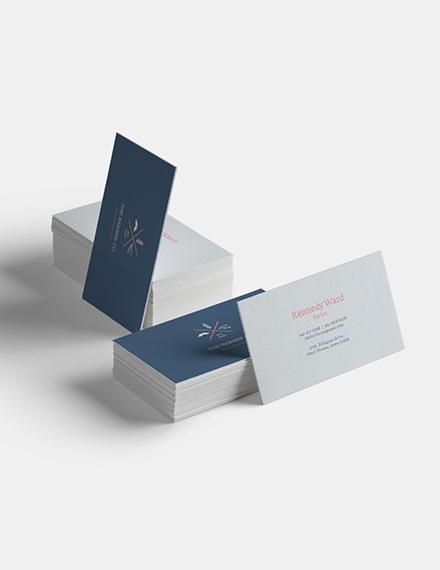 Barber Business Card Sample
