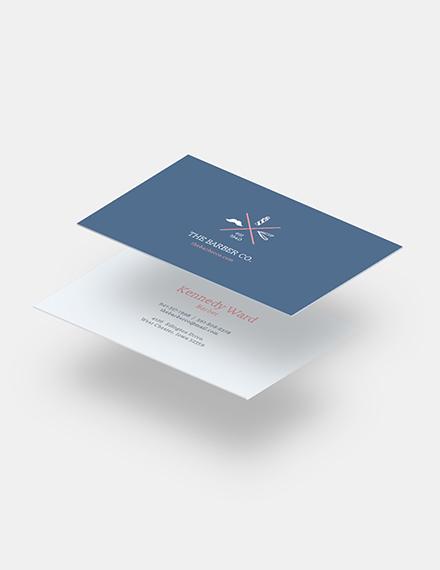 Barber Business Card Download