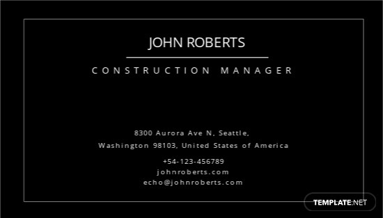 Construction Manager Business Card Template 1.jpe