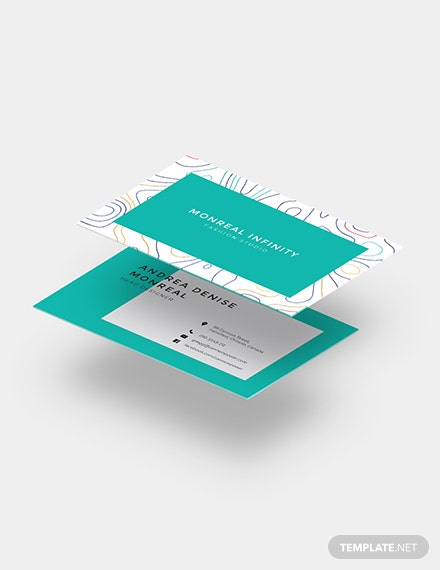 Creative Business Card for Fashion Designers Download