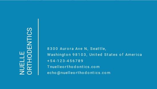 Creative Dentist Business Card Template 1.jpe