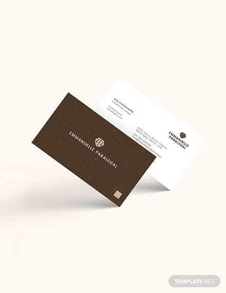 Creative Lawyer Business Card Download