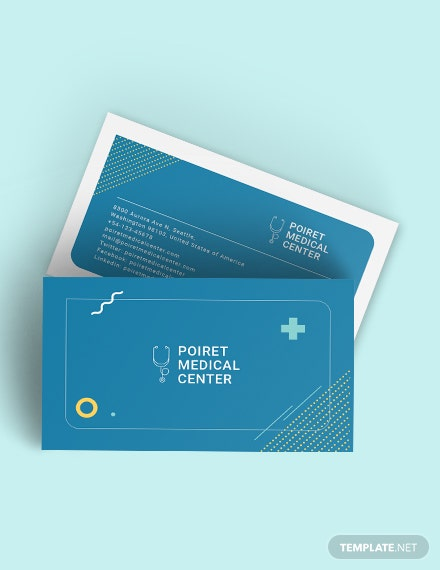 Creative Medical Business Card Download