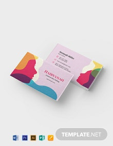 Creative Salon Business Card Template
