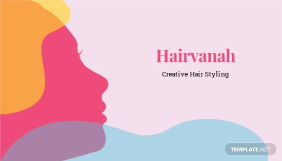 Creative Salon Business Card Template
