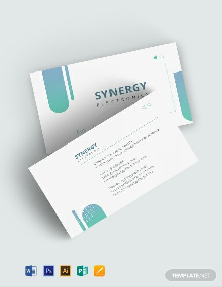 Creative Transparent Business Card Template