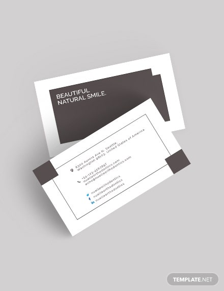 118 Free Business Card Templates Download Ready Made Template Net