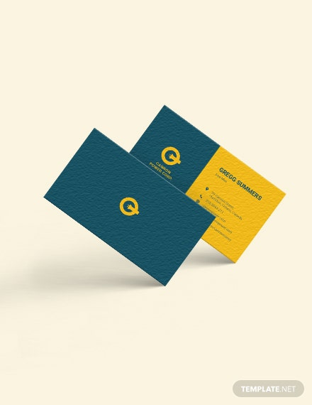 Electrical Service Business Card Download