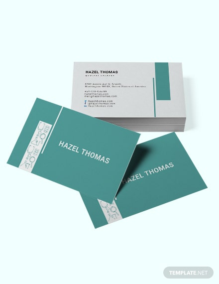 Medical Student Business Card Template Download 96 Business Cards