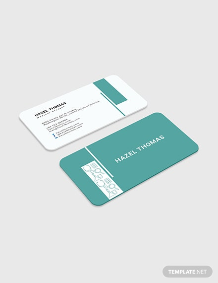 Medical Student Business Card Download