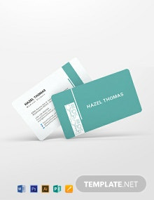 Medical Student Business Card Template