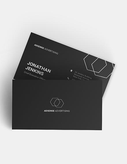 Minimalist Business Card Download