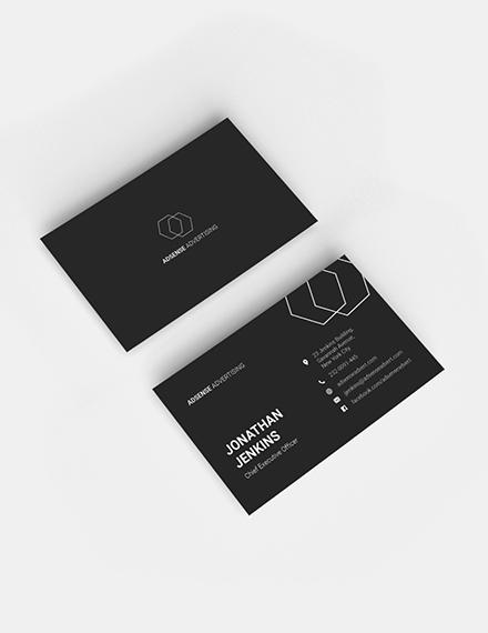 Minimalist Business Card Sample