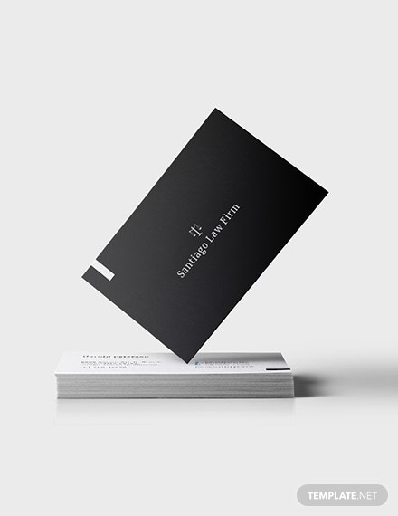 Attorney Business Card Template [Free JPG] - Illustrator, Word, Apple Pages, PSD, Publisher