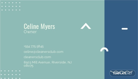 Cleaning Service Business Card Template 1.jpe