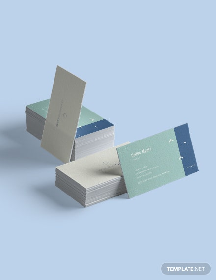Sample Cleaning Service Business Card