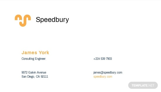 Consulting Engineer Business Card Template 1.jpe