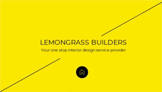 Creative Interior Designer Business Card Template